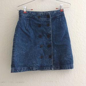 Vintage Forenza denim skirt
